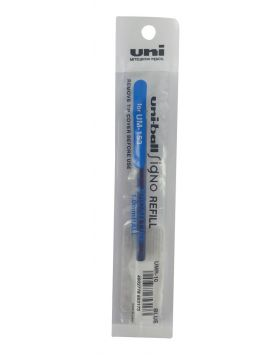 Uniball Signo Refill For UMR 10   1.0mm Ball Blue Ink Model : 11927