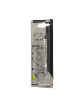 PARKER-FINE TIP BLACK COLOR INK REFILL MODEL: 12499