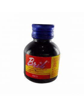 Bril Model: 70012 Red color 60 ml ink bottle