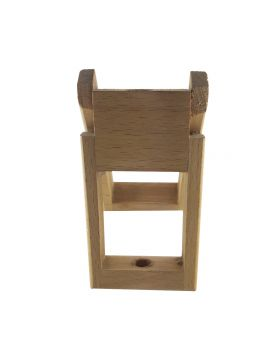 WOODEN BOX WITH SINGLE PEN HOLDER MODEL: 12553