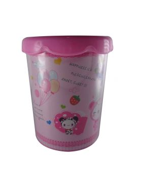 penhouse.in Model: 13742 Pink color flower pot design pen holder