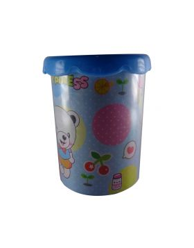 penhouse.in Model: 13743 Blue color flower pot design pen holder