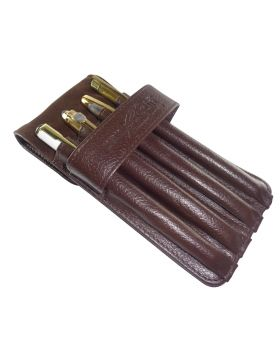 Penhouse.in Model: 14514 Brown color Leather Pen Pouch