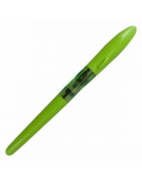 Jinhao Model:15733 Shark Shape Yellow Green Color Body Thread Type Cap with Fine Nib Fountain Pen