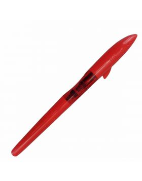 Jinhao Model:15736 Shark Shape Red Color Body Thread Type Cap with Fine Nib Fountain Pen