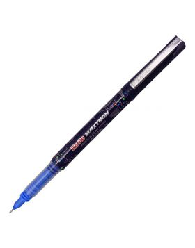 Rorito Maxtron Model:15792 Dark Blue With Silver Clip Fine Tip Gel Pen