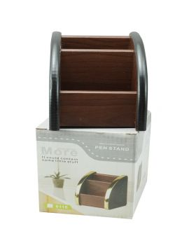 Penhouse Model:16238  Brown Color Body With Multifunction  Pen  Stand  Holder