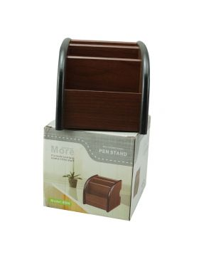 Penhouse Model:16240  Brown Color Body With Multifunction  Pen  Stand  Holder