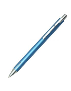Penhouse Model:17300 SkyBlue Color Body With Silver Clip Click Type Fine Tip Ball Pen