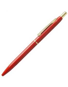 K-Nine Speed Master Retractable Ball Pen Red Color Body - Model: 18157
