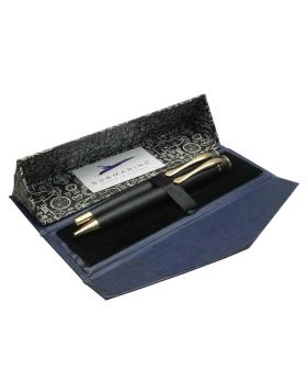 Submarine - Black Body and Cap Roller Ball and Ball Pen Set Model 18399