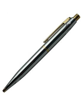 Sheaffer A9422 BP - VFM Full Silver Gold Trim Set Ball  Pen Model 18429