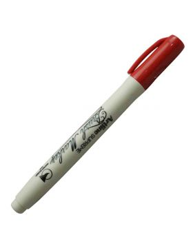 Artline Brush Marker - Red Color Model 18641