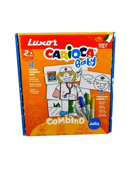 Luxor Carioca Baby - Doctor Coloring Cards with Sketch PensModel.No :50019