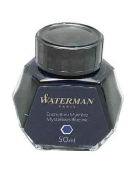 Waterman Mysterious Blue 50 ml  fountain pen ink Model 70078