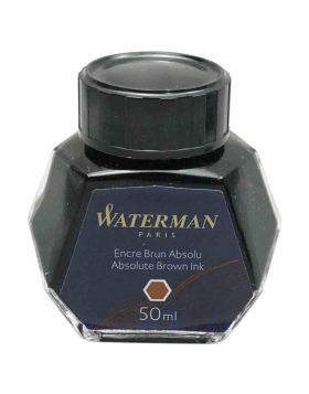 Waterman Absolute Brown 50 ml fountain pen ink Model 70079