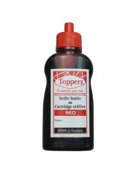 Toppers Red Ink Bottle - 60 ml Model: 70084