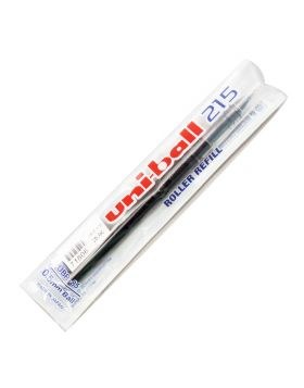 uni-ball 215 : Model 71606 Black  Color Writing Roller Ball Refill 0.5mm