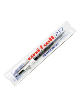 uni-ball 217 : Model 71607 Black  Color Writing Roller Ball Refill 0.7mm