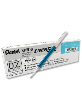 Pentel Model: 71617 Energel Torquoise Blue ink Refill