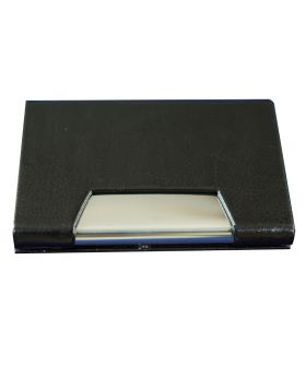 Penhouse Model No:87008  Black Color Body With Metal  Desing  Card holder