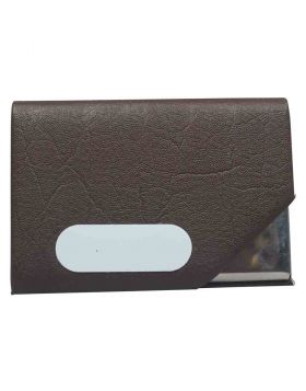 Brown Centre Flip Card Holder Model 87018