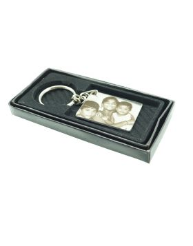 Penhouse.in Stainless Steel Photo Key chain Model No.KP0032