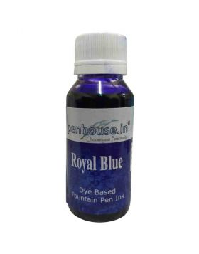 penhouse.in Royal Blue Color Fountain Pen Ink  60ml  Model : 70700